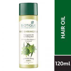 Biotique Bio Bhringraj Therapeutic Oil for Falling Hair