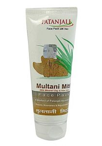 Patanjali Aloevera Multani Mitti Face Pack (pack of 3)