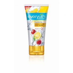 Everyuth Naturals Brightening Lemon And Cherry Face Wash (Pack of 3)