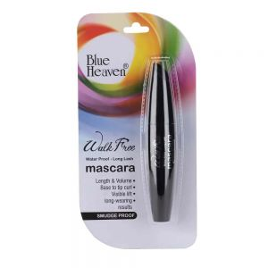 Blue Heaven Walk Free Mascara (Water Proof - Long Lash) - Black