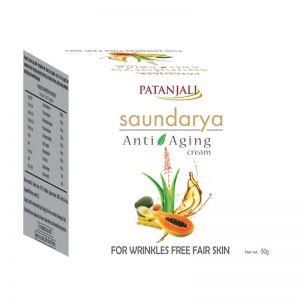 Patanjali Saundarya Anti - Aging Cream