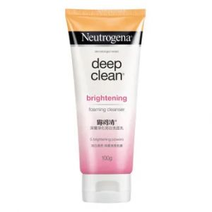 Neutrogena Deep Clean Brightening Foaming Cleanser