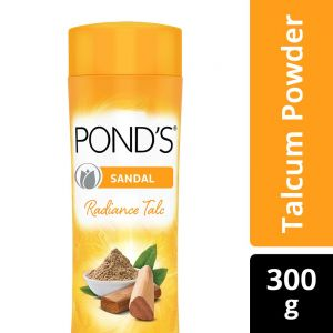 POND'S Sandal Radiance Talcum Powder, Natural Sunscreen, 300 g