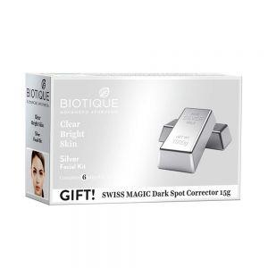 Biotique Bio Silver Facial Kit, 65g