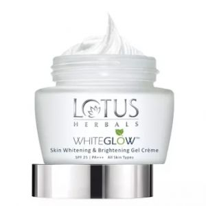Lotus Herbals WhiteGlow Skin Whitening & Brightening Gel Cream SPF 25 PA++