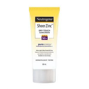 Neutrogena Sheer Zinc Dry Touch Sunscreen SPF50+ (For Sensitive Skin)