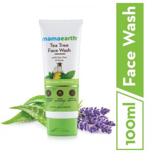 Mamaearth Face Wash With Tea Tree Oil And Neem Extract For Acne &Pimples (100ml)