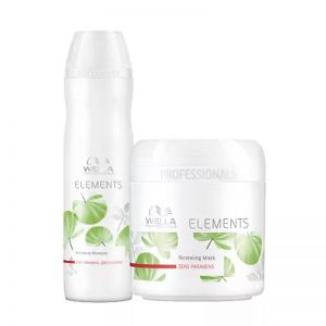 Wella Professionals Elements Shampoo and Mask Regime for Chemically Treated Hair