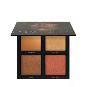 Huda Beauty 3D Highlighter Palette - Bronze Sands
