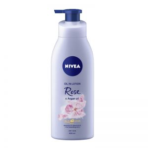 NIVEA Body Lotion Oil in Lotion Rose & Argan Oil - For Dry Skin