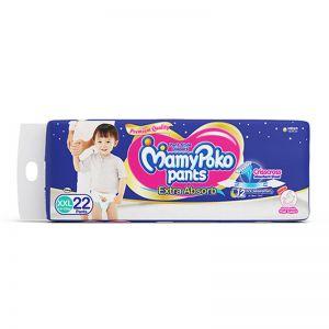 MamyPoko Pants Diapers - XXL (22 Pieces)