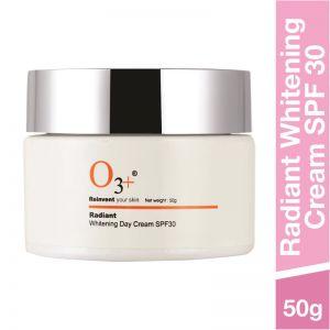 O3+ Radiant Brightening & Whitening Day Cream SPF 30