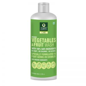 Organic Harvest Vegetables & Fruits Wash with Organic Ingredients
