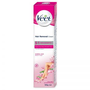 Veet 5 In 1 Skin Benefits Hair Removal Cream- Normal Skin