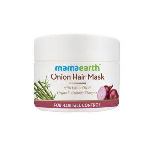 Mamaearth Onion Hair Mask For Hair Fall Control