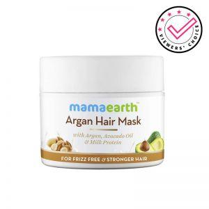 Mamaearth Argan Hair Mask With Argan, Avocado Oil & Milk Protein