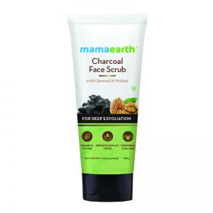 Mamaearth Charcoal Face Scrub For Oily Skin & Normal skin With Charcoal & Walnut