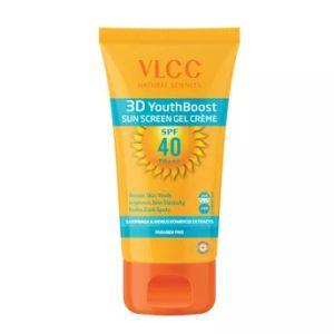 VLCC 3D Youth Boost SPF40 Sun Screen Gel Creme SPF40 PA+++