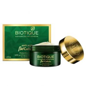 Biotique BXL Cellular Anti-Age Protection Cream SPF 50 UVA/UVB Sunscreen