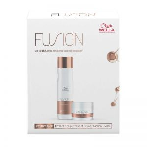Wella Professionals Fusion Intense Repair Shampoo and Mask Regime
