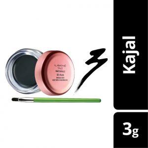 lakme 9to5 naturale gel kajal - black