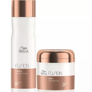 Wella Professionals Fusion Intense Repair Shampoo and Mask