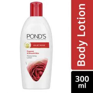 Ponds Juliet Rose Fragrant & Smooth Skin Moistursing Lotion