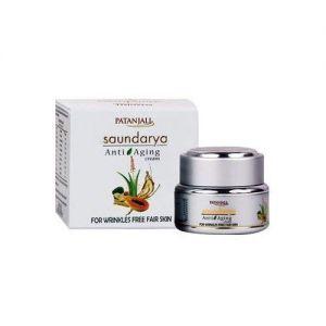 Patanjali Ayurverd ltd Saundarya Anti Aging Cream