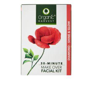 Organic Harvest Diamond - Shine & Glow Facial Kit